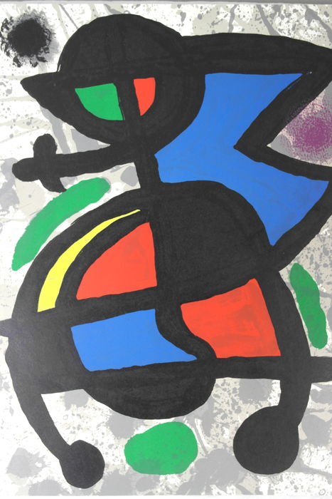 Joan miro derriere le miroir no 186 catawiki for Miro derriere le miroir