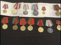 10 Russian medals, Soviet Union period