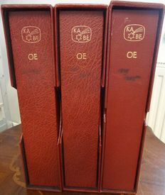 Austria 1945/1981 - Collection in 3 preprint albums with Schuber
