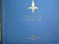 Trieste 1951/1954 - Anglo American administration AMG-FTT - Sassone 89a, 208, PA 26A