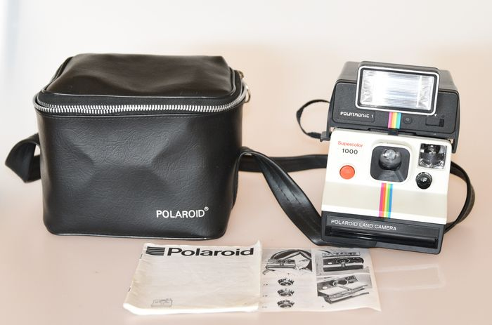 polaroid 1000 supercolor with 2 bags catawiki. Black Bedroom Furniture Sets. Home Design Ideas
