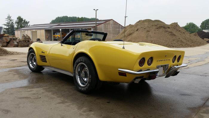 chevrolet corvette c3 cabrio 1970 catawiki. Black Bedroom Furniture Sets. Home Design Ideas