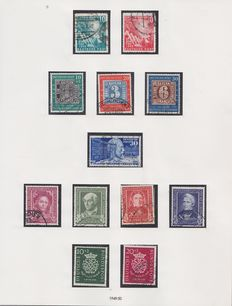 Federal Republic of Germany 1949/1984 - Complete collection in 2 preprint albums
