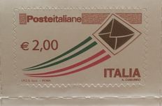 Italy - Set of current priority mail stamps