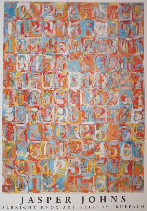 Jasper Johns - Numbers in Colour - Catawiki