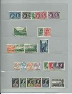 Luxembourg 1920/2001 - Lot on stock cards