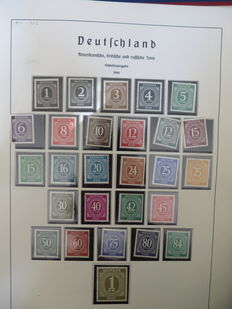 Germany - Lot in 5 albums + 3 stock books