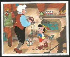 Disney - Theme collection of 179 stamps Grenada