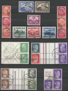 German Empire 1928/1940 - Selection incl. combinations