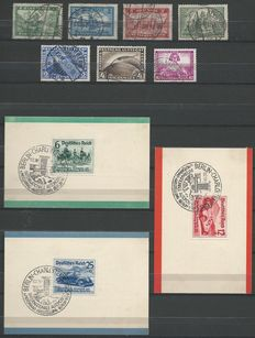 German Empire 1924/1941 - Selection between Michel 346 and 803