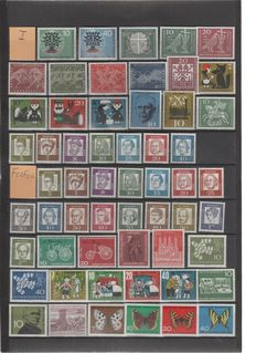 Federal Republic of Germany 1960/1995 - Collection on stock pages