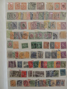 Finland 1917/1998 - Stamp collection in binder