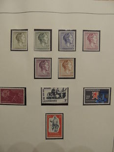 Luxembourg 1960/1989 - Stamp collection in binding