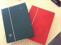 Federal Repubic of Germany 1958/1993 - Almost complete collection between Michel 279 and 1708 in 2 stock books