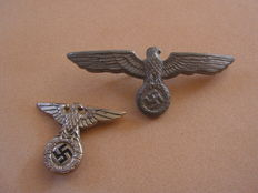 lot of 2 Eagles for cap and chest German