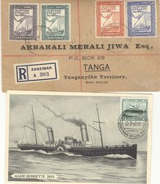 Thematic - Collection Maritime and transport related Covers, Stationairy, etc.