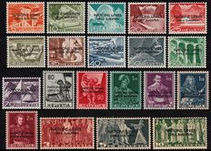 Switzerland 1950 - Official stamps for United Nations - Michel 1/11 + 12/20