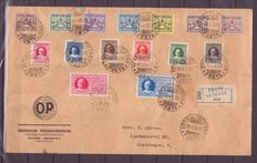 Vatican 1930/1954 - Small lot of postal history of the period