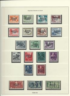 Switzerland 1948/2008 - Collection International Organisations with duplicates on pages and stock pages