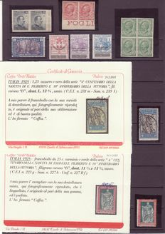 Italy 1906/1929 - Small lot of the period variety