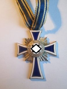 Silver Mother's Cross