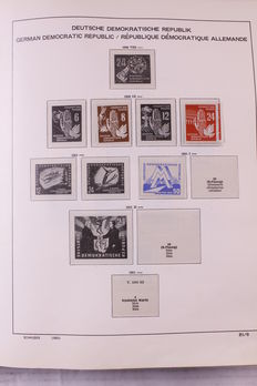 Germany 1946/2002 - Batch in two albums, on preprint pages and in stock book