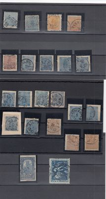 Sweden 1903/1924 - Collection included Michel 54U and 173W