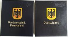 FRG 1968/2001 - Almost complete collection in two Davo Luxe preprint albums
