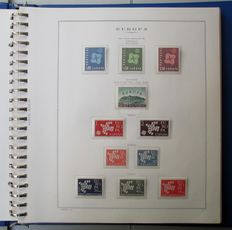 United Europe 1961/1974 - Complete CEPT collection