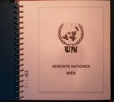 United Nations Vienna 1979/2001 - Collection in Lindner preprint ring binder
