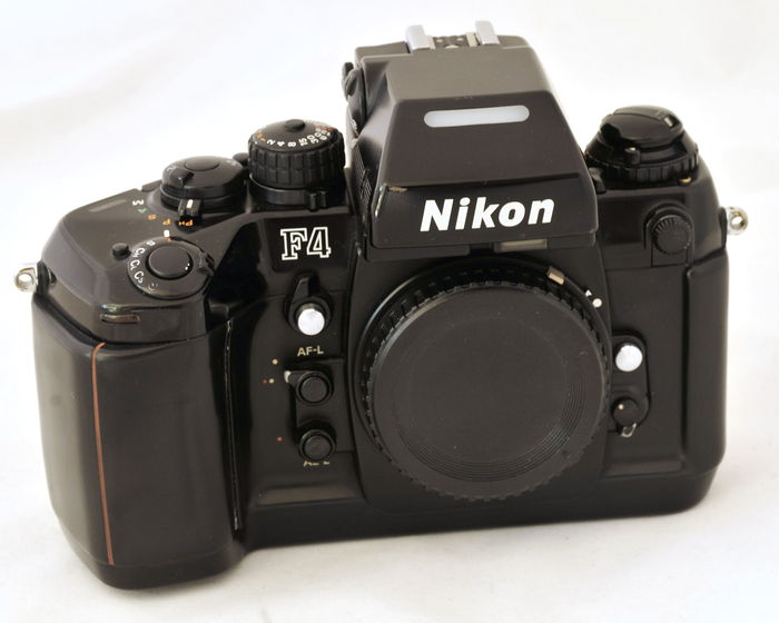nikon f4 professionnel auto focus appareil photo reflex. Black Bedroom Furniture Sets. Home Design Ideas
