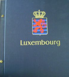 Luxembourg 1965/1995 - Collection 30 years complete in Davo album