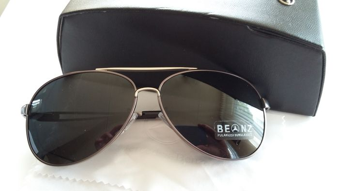 Mercedes benz sunglasses with box and papers catawiki for Mercedes benz sunglasses
