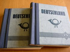 Germany and CSSR - Remains of collections and duplicates in 5 stock books and 2 albums