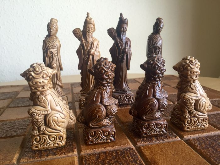 Chinese Style Chess Set From The 1960s Catawiki