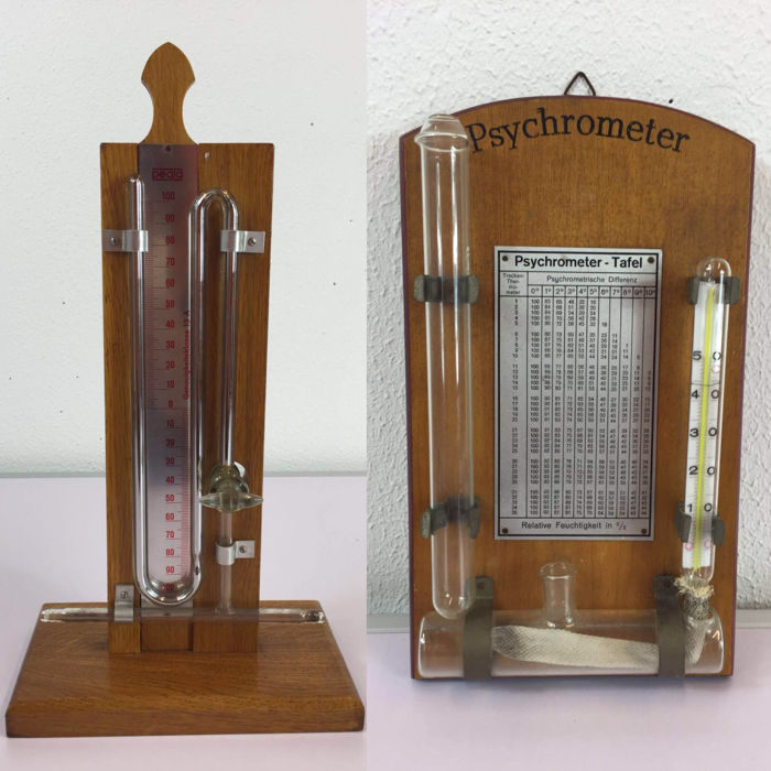 how to make a wet bulb thermometer