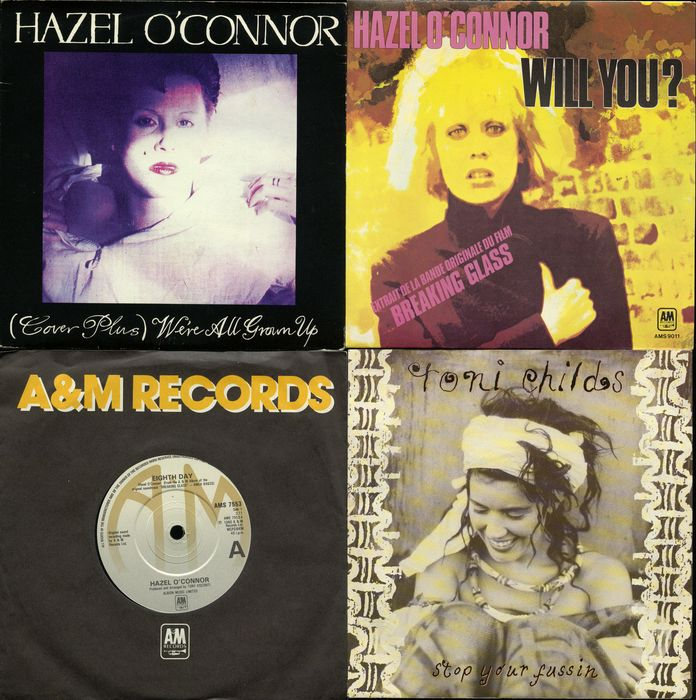 hazel singles Hazel o'connor official discography singles, lyrics, music samples, and sleeve notes.