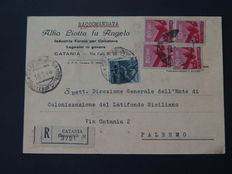 Italian Republic 1946 - Collection of 28 letters and cards
