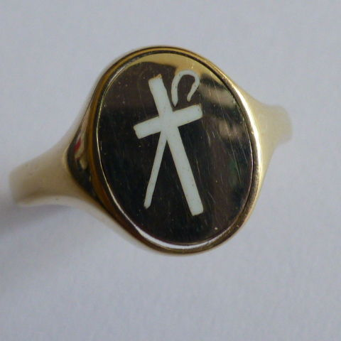 Reversible Masonic Signet Ring