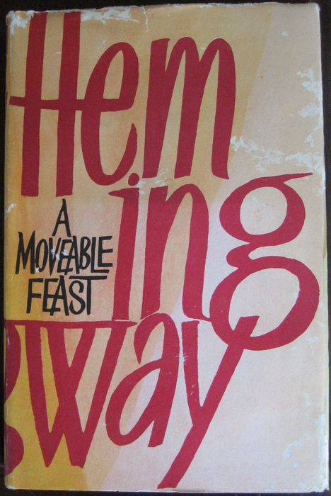 A MOVEABLE FEAST - ERNEST HEMINGWAY - FIRST EDITION, 1st PRINTING w DUST JACKET
