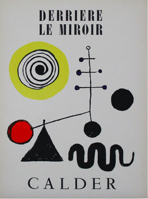 Alexander calder after derriere le miroir catawiki for Derriere le miroir calder
