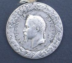Real commemorative Medal of the MEXICO EXPEDITION