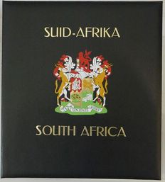 South Africa - Collection from 1961 in 2 Davo Luxury albums