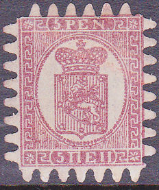 Finland 1866 - Coat of arms - Michel 5Cx