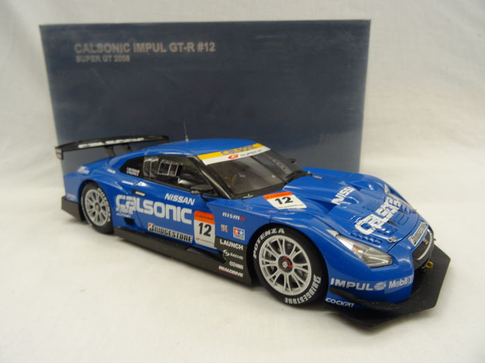 autoart scale 1 18 nissan gtr calsonic impul gt r 12 super gt 2008 catawiki. Black Bedroom Furniture Sets. Home Design Ideas