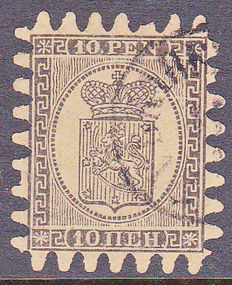 Finland 1866 - Coat of arms - Michel 7Bx