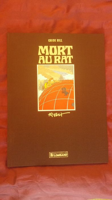 chick bill vol 40 mort au rat dedication hc deluxe edition 1983 catawiki. Black Bedroom Furniture Sets. Home Design Ideas