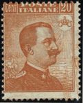Check out our Italy 1917 - Sassone 109 with double print - Sassone 109D, with certificate Raybaudi
