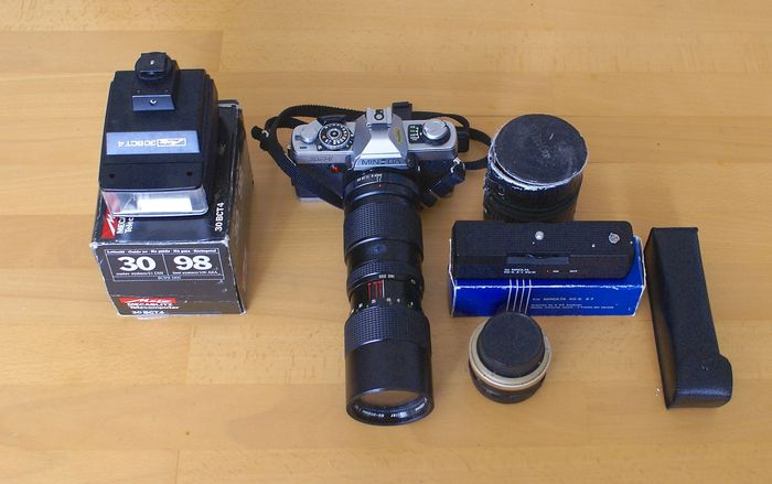 minolta xg 1 how to use