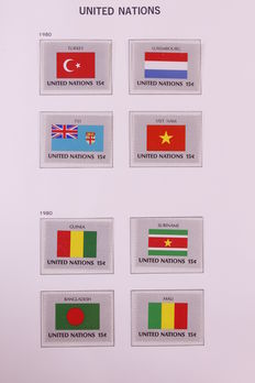 United Nations 1951/1992 - Collection in 4 Davo albums